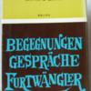 カルラ・ヘッカー「フルトヴェングラーとの対話」(音楽之友社)