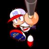 【パワプロ9・パワプロ2018】ホームランくん(三塁手)【パワナンバー・画像ファイル】