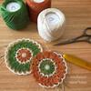 編み図|ダルマレース糸#60で編む28枚目のドイリー