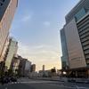 ★大阪の明るい夕暮れ