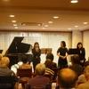 和やかで華やかなピアノ+クラリネット+声楽のアンサンブル♪