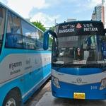 バンコク~パタヤ間の移動は・・・やっぱり大型路線バスが一番!! エカマイ東バスターミナルから...