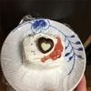 バレンタインにビスケットケーキ。2