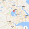 太湖と上海蟹