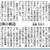 反則の構造 斎藤美奈子   悪質なタックルに及んだ日大アメフット選手の会見は,旧日本軍の上官と兵士の関係を連想させるものだった.いや,日本の組織にはいまもこのような命令系統,役割分担で動いているところが多々あるのではないか. 財務省での決裁文書の改ざんも,防衛省での日報の隠蔽(いんぺい)も,森友問題や加計問題にも同様の三段構えの構造を感じる.真実を語った彼の勇気を見習いたい. 本音のコラム   東京新聞 2018年(平成30年)5月23日(水曜日)