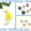 人気のお花たち*立体プラバンアクセサリー