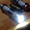 【買物】 また懐中電灯を買ってしまった。14500充電池とLEDライト