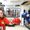 #キックボクシング女子 ♪♪