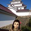 フウナ in リアル 2019・12月 会津若松城 (鶴ヶ城編・その2 )