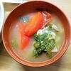 【リフレッシュしたい時】旨味たっぷり春菊とトマトの具沢山味噌汁の作り方。