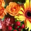 記念日には花束を