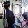 路線バスの新人運転手