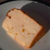 ベイクドチーズケーキ味のシフォンケーキ〜20c型〜