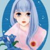 【イラスト010】11月の竜胆(リンドウ)