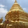 チェンマイの山の上にひっそりと佇む金ピカ寺院 ドイステープに(バイクで)(自力で)行ってきたわ