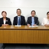 1区斎藤氏の擁立取り下げを発表。金子氏支援に全力