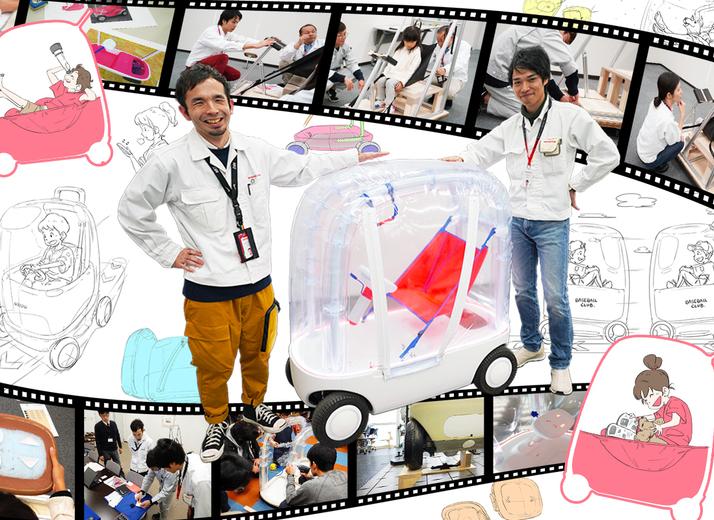子どものためのクルマ AIBOU 東京オートサロン展示モデルができるまで