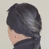 いつかの髪型。編み込み風