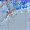 九州南部非常に激しい雨、関東も雨脚強まる