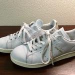 【靴磨き】スタンスミス アディダス オリジナルスのお手入れ方法