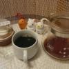 今回のコーヒーはキリマンジャロAA(中煎り)~お茶請けはシフォンケーキ~