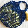 丸底ネットバッグの編み方