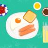B&Bやるなら:選べるバランス朝食メニュー