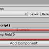 【Unity】Unity 2018.3 から自動実装プロパティに SerializeField 属性を付与して Inspector に表示できるようになった