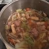 糖質制限レシピ020 袋野菜ともやしたっぷりの肉団子スープ