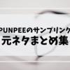 【厳選】PUNPEEのサンプリング元ネタまとめ集「あの名曲も!!」