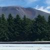 浅間山のハート