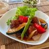 夏野菜の酢豚