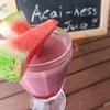 月曜日のジュース「Full of Acai-ness Juice!!」