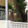煉瓦造の擁壁  千代田区富士見