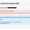 【2018年イギリス学生ビザ】 Tier4 visa IHSイギリス国民保険に加入!