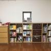 【収納ビフォーアフター】ニトリのカラーボックスで本棚コーナーを拡げました