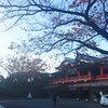 千葉神社に行ってきました。中庸神である天之御中主(あめのみなかぬし)様がお祀りされています。