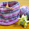 [編みかけ]Opal毛糸のバックワーズセーター