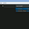 Visual Studio Code でLinuxデスクトップにPowerShellデバッグ環境を構築
