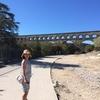 プロヴァンス旅行記②世界遺産、ローマ帝国の巨大水道橋Pont du Gard!