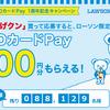 """QUO Pay ローソンでからあげくんを食べ放題!!(""""逆ザヤ""""~16円で)【~4/6の先着あと8.8万個分】"""