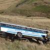 レソトで目撃したバスの残骸。スピード狂の運転手に当たるのが海外で最も危険