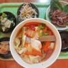 豆腐と卵のキムチ鍋