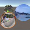 全天周画像を貼り付ける球を複数おくときの描画の話【Unity】