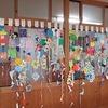 1年生:図工 きれいな飾りが完成