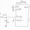 footstep detector / LabVIEW+myDAQ版