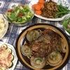 豚ロース肉と新玉ねぎのステーキ