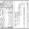 株式会社ビズオーシャン 第4期決算公告 / 新規分割公告