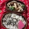 10分deお弁当 *生姜焼きとレンコン