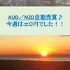 AUD/NZD自動売買 今週は±0円でした